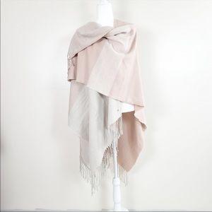 Soia & Kyo Blanket Scarf in Blush